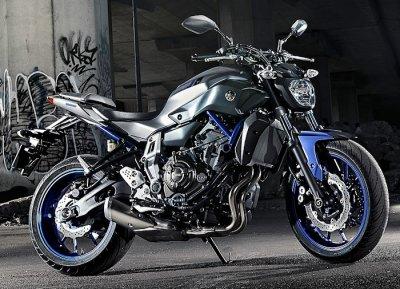 Notre Yamaha MT-07 Permis moto Auto école Forcalquier