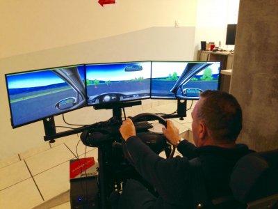 Simulateur de conduite ultra moderne Auto école Forcalquier